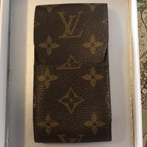 Vintage authentic Louis Vuitton cigarette holder